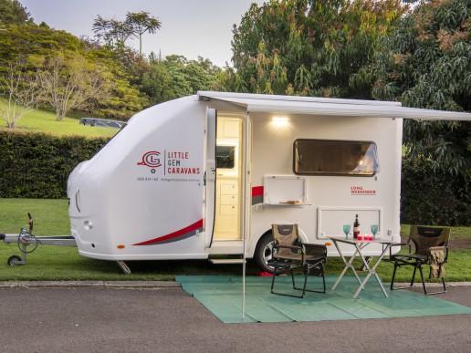 John BurkeLittle Gem Caravans - camper