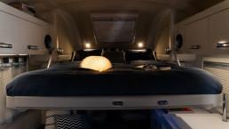 Oasi 540 - mini camper con cama doble abatible - camper