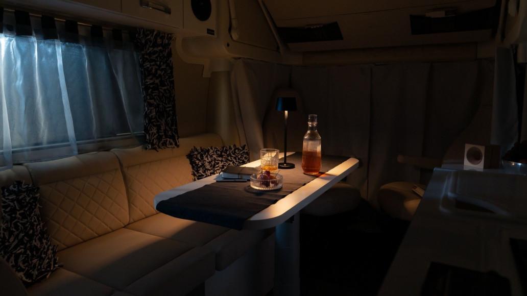 Oasi 540 - Nachtlicht LED Kompaktcamper Design - Wohnmobil