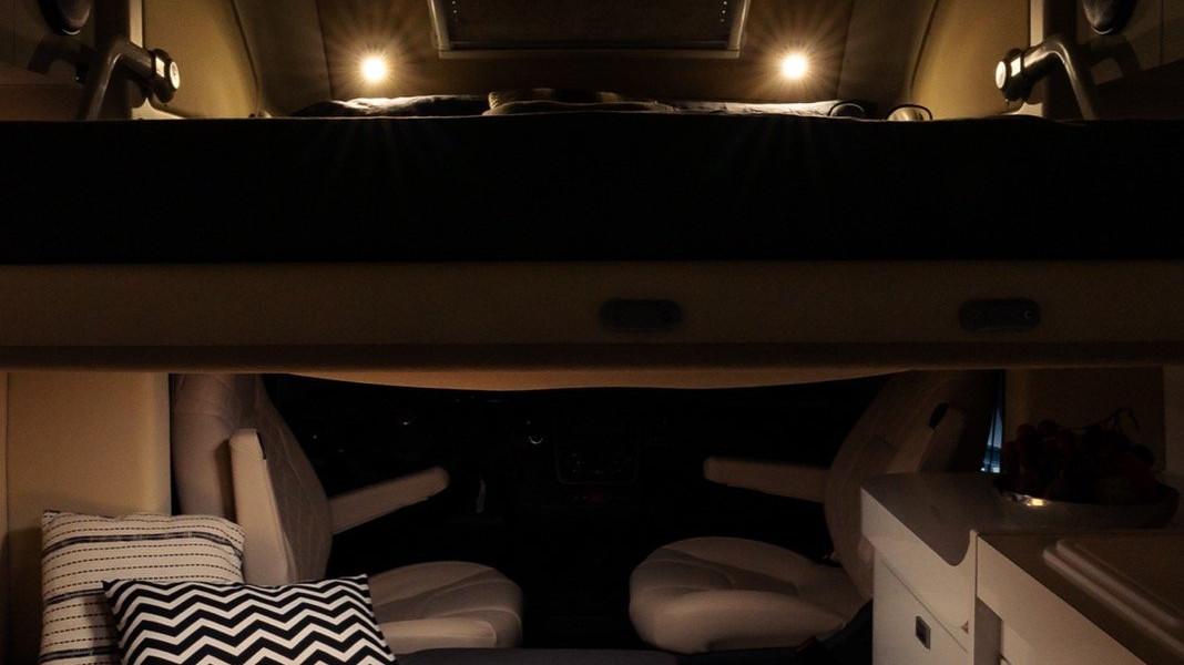Oasi 540 - camping-car compact de nuit premiumness - camping-car