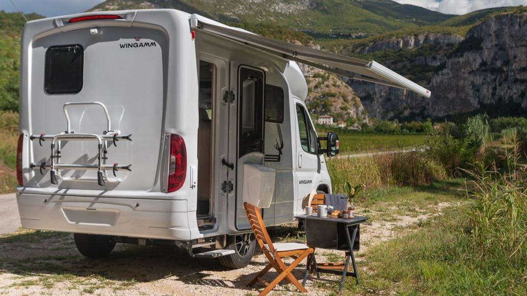 Oasi 540 - kleines Wohnmobil Wohnmobil Wohnmobil kompakter Luxus Premium Camping - Wohnmobil
