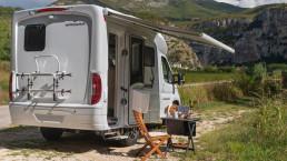 Oasi 540 - autocaravana pequeña caravana autocaravana compacta de lujo premium camping - camper