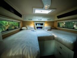 Fiberglass monocoque - camper