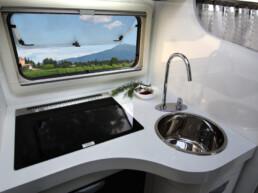 Monoscocca in vetroresina - camper