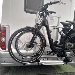 e-bike holder - camper