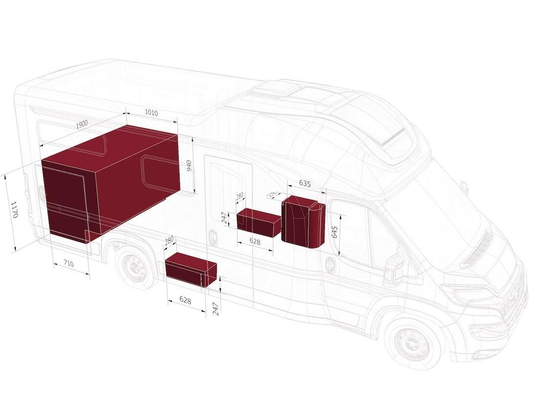 OASI 690 TWINS - 2020 - Wohnmobil