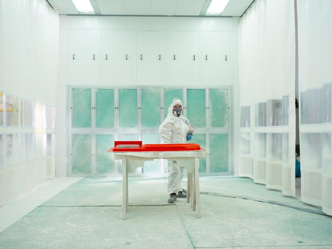 Glasfaserwaschbecken Türen WC Wohnmobil - Wohnmobil
