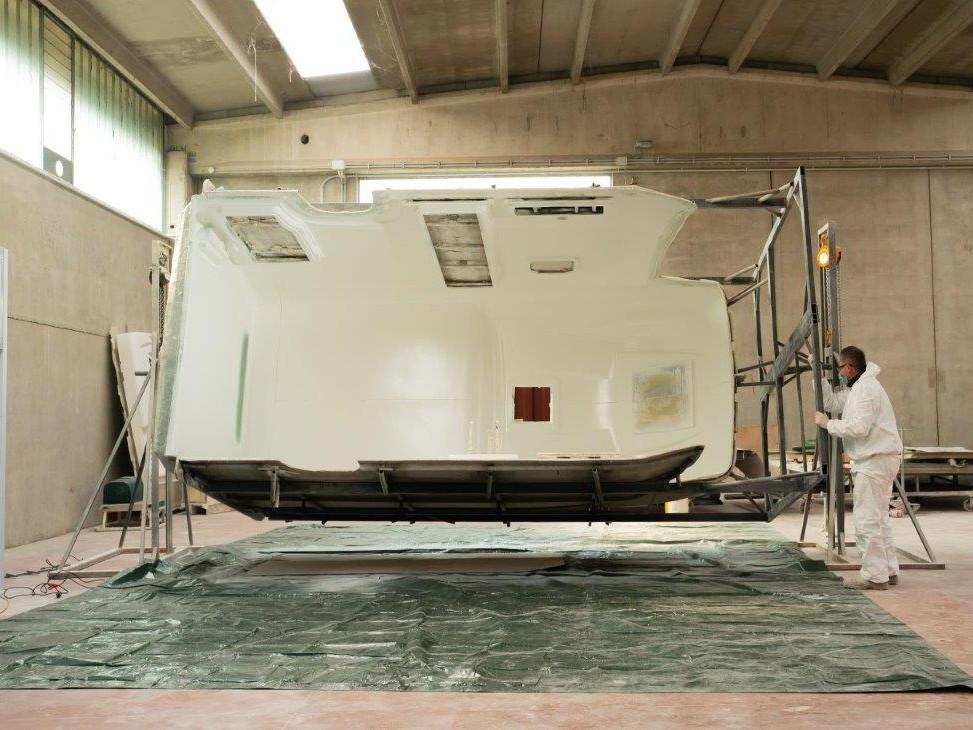 Glasfaser Monocoque Produktion Wohnmobil-12 - Wohnmobil