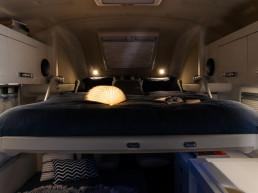 Oasi 540 - drop down double bed mini camper - camper